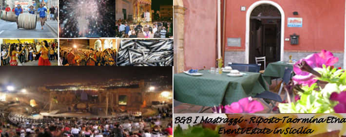Feste ed eventi in Sicilia estate